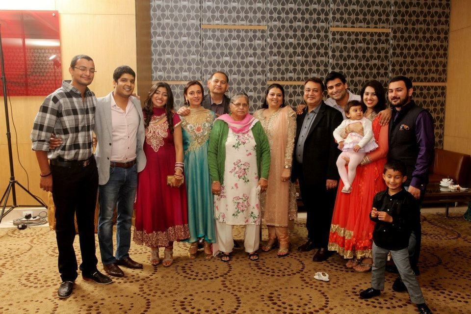 family picture of mamta jain