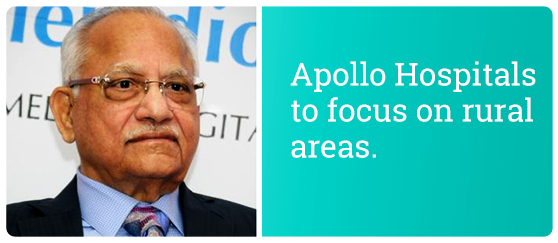 prathap c reddy chairman of apollo hospitals