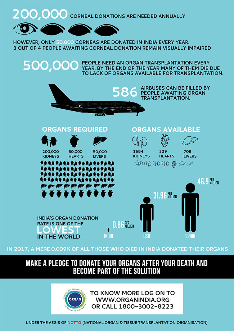 organ donation facts
