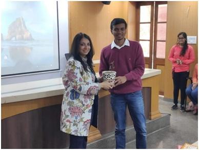 Awareness session at Hansraj College in Delhi University