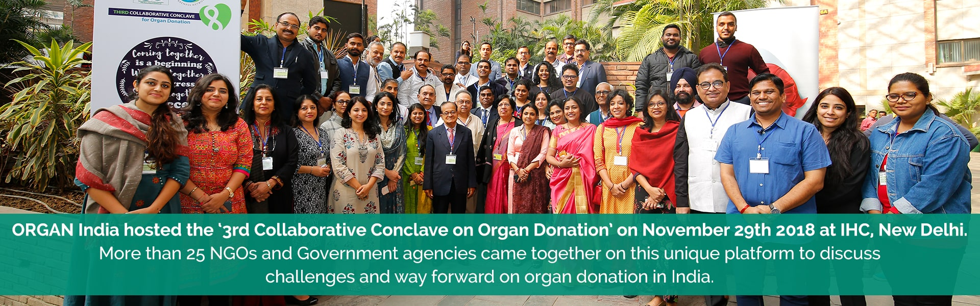 Unique platform to discuss challenges and way forward on organ donation in India