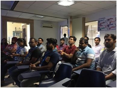 Awareness session at Truechip Solutions Pvt. Ltd. in Noida