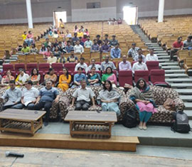 Awareness session at Government College in Dharamshala