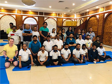 On the occasion of International Yoga Day