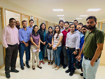 Awareness session at Uflex Ltd. in Noida