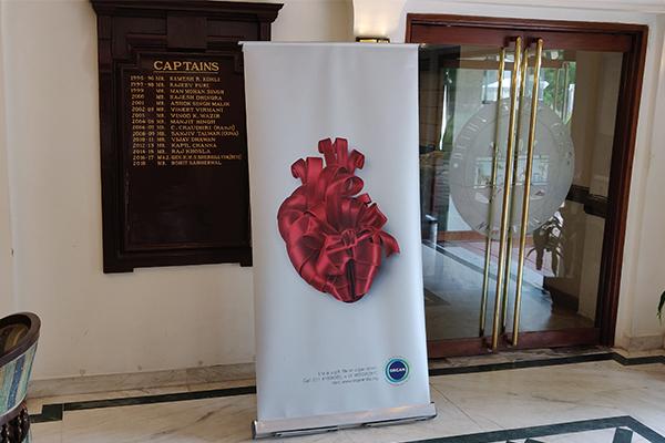 Organ Donation awareness session at Delhi Golf Club