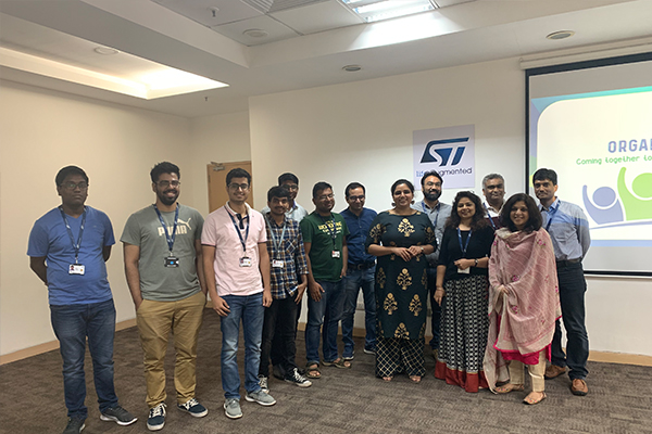 Organ Donation awareness session at STMicroelectronics in Greater Noida