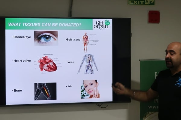 Organ donation awareness session