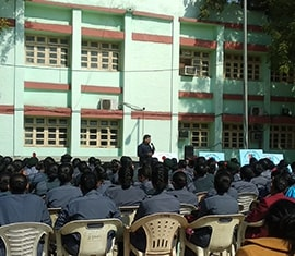 ORGAN India conducted an awareness session for NCC Girl Cadets in New Delhi