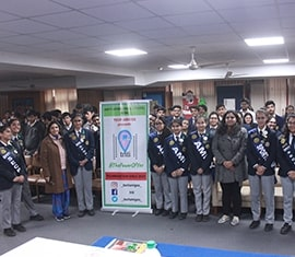 Organ Donation awareness session at Amity International School, Noida