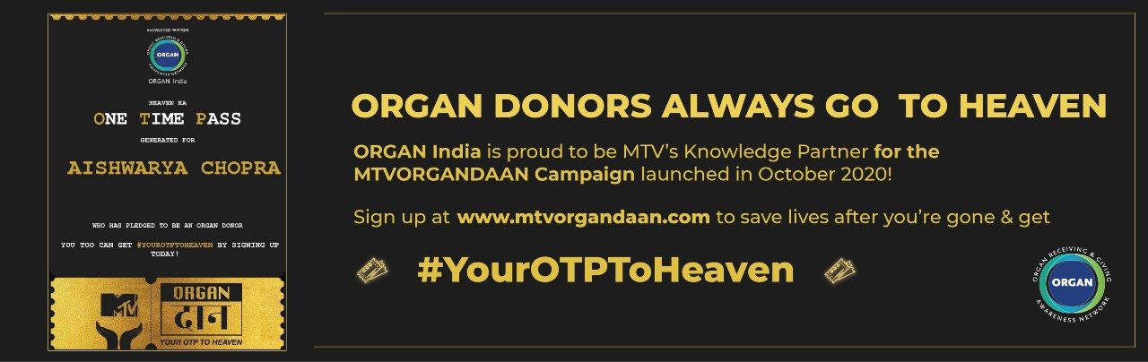 ORGAN India MTV Banner 2